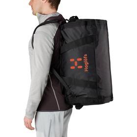 Haglöfs Lava 70 Duffel Bag, true black